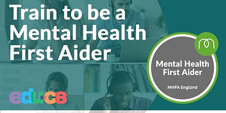 Mental Health First Aid  Online- MHFA tickets