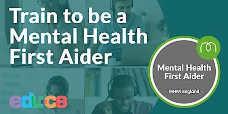 Mental Health First Aid - MHFA tickets