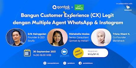 Bangun Customer Experience Legit dengan Multiple Agent Whatsapp & Instagram tickets
