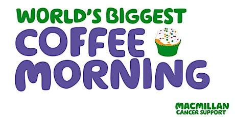 MacMillan Coffee Morning tickets