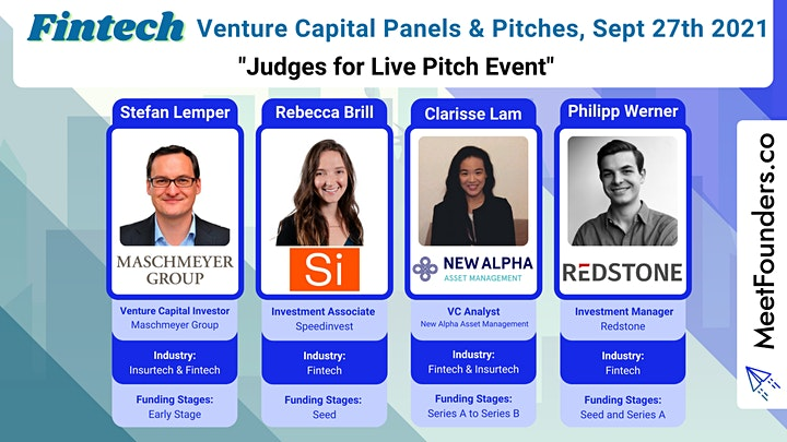 VC Panels & Pitches [Fintech Edition] by MeetFounders image
