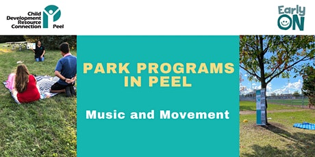 PARK PROGRAM: Matthew Cation Park - Music and Movement (birth-6 years) tickets