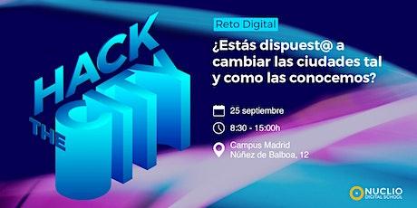 Hackathon: #HackTheCity! entradas