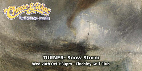 Paint Turner  'Snow Storm' at Finchley Golf Club tickets