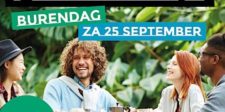 Burendag ontbijt- locatie Bagels & Beans van Broeckhuysenstraat tickets