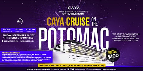 CAYA Cruise On The Potomac tickets