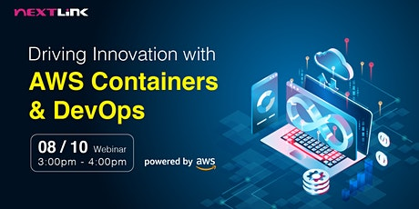 Driving Innovation with AWS Containers and DevOps tickets