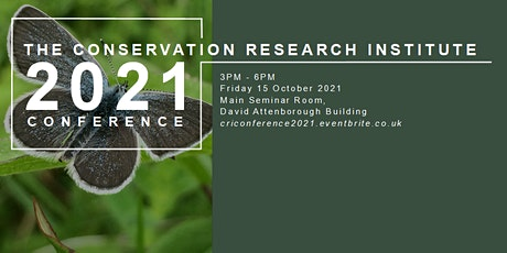 Conservation Research Institute Conference 2021 tickets