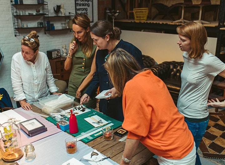 Make Your Own Butterfly Frame Workshop in Battersea image