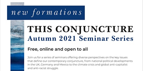 This Conjuncture: Perspectives from Mexico tickets
