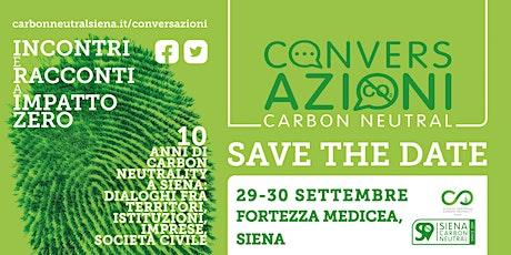 ConversAzioni Carbon Neutral. Incontri e racconti a impatto zero biglietti