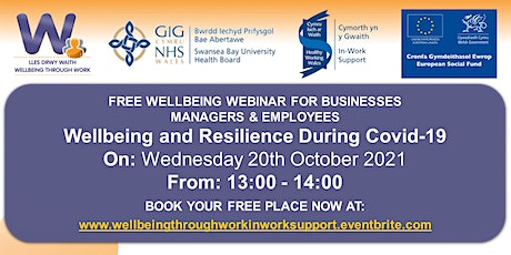 Wellbeing and Resilience During Covid-19 tickets