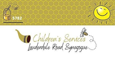 Lauderdale Road Children's services - Simchat Torah. tickets