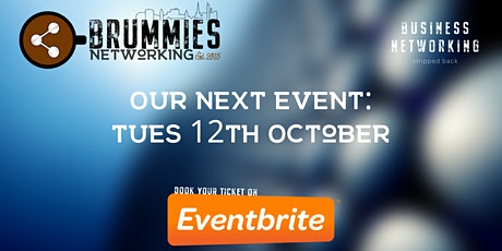 Brummies Networking Post-Covid Relaunch - October Event tickets