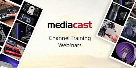 MediaCast   Channel Training Webinars biljetter