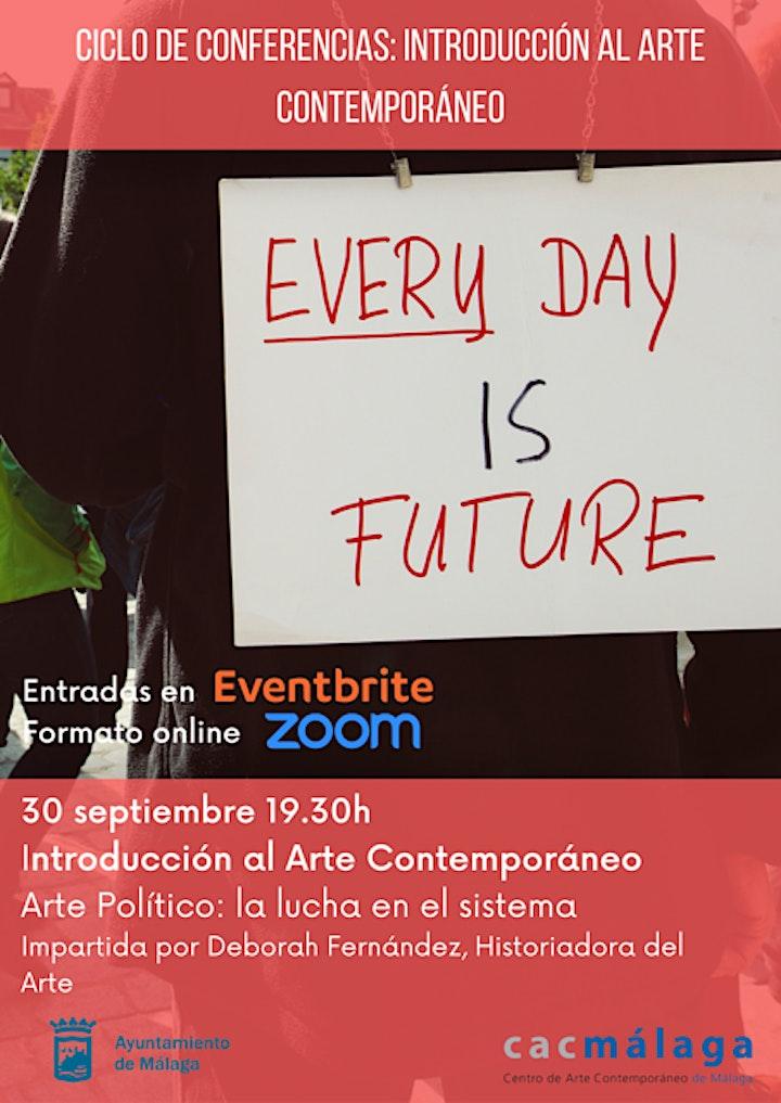 Imagen de Ciclo de conferencias. Arte político: la lucha en el sistema
