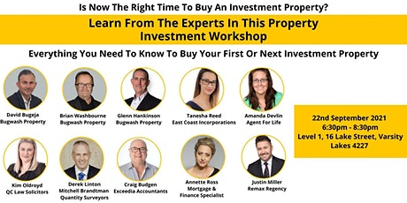 Is Now The Right Time To Buy An Investment Property? Join our WORKSHOP! tickets