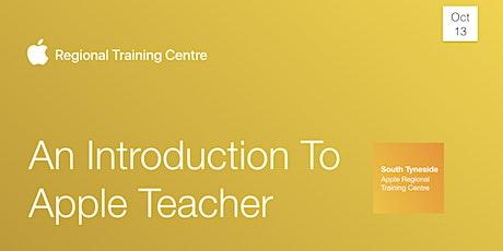 An Introduction to Apple Teacher tickets