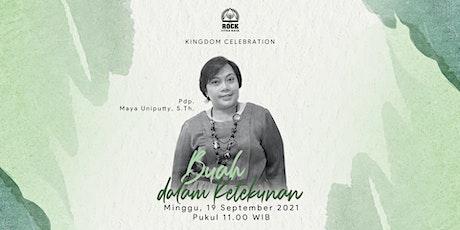 Kingdom Celebration | 19 September 2021 |Jam 11:00 tickets