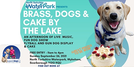 Brass, Dogs and Cake by the Lake tickets