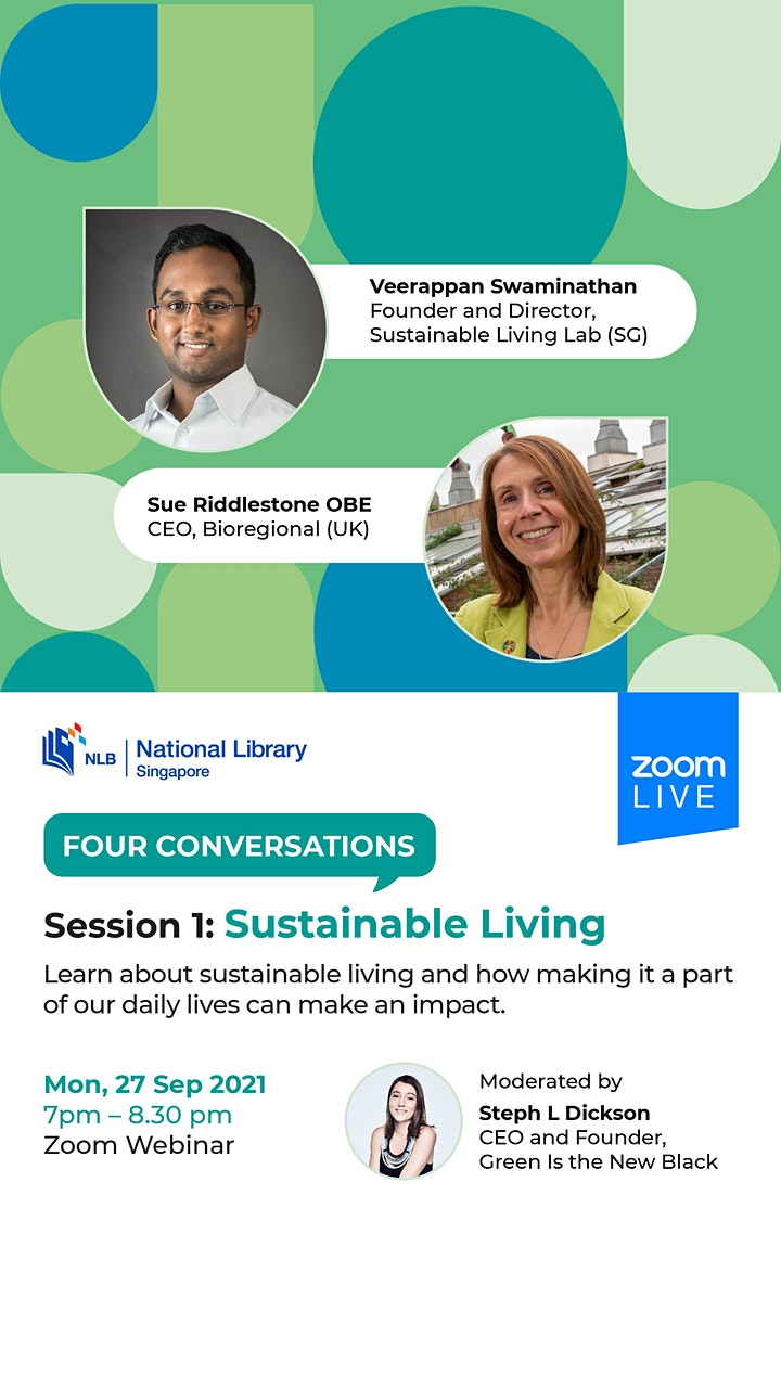 Session 1: Sustainable Living | Four Conversations image