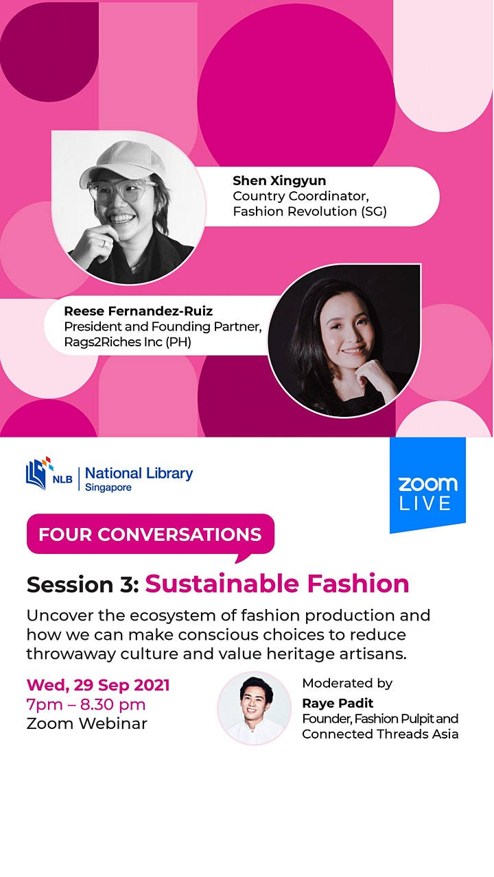 Session 3: Sustainable Fashion | Four Conversations image