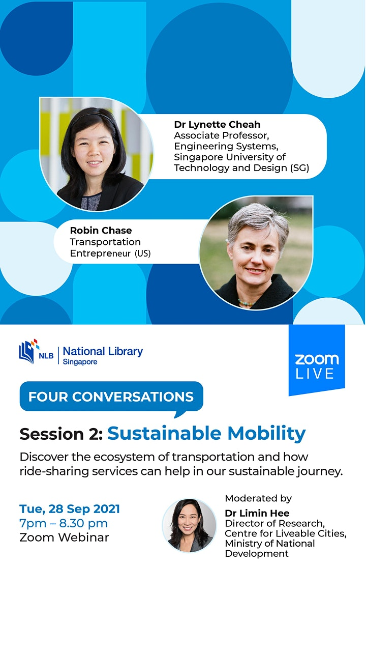 Session 2: Sustainable Mobility | Four Conversations image