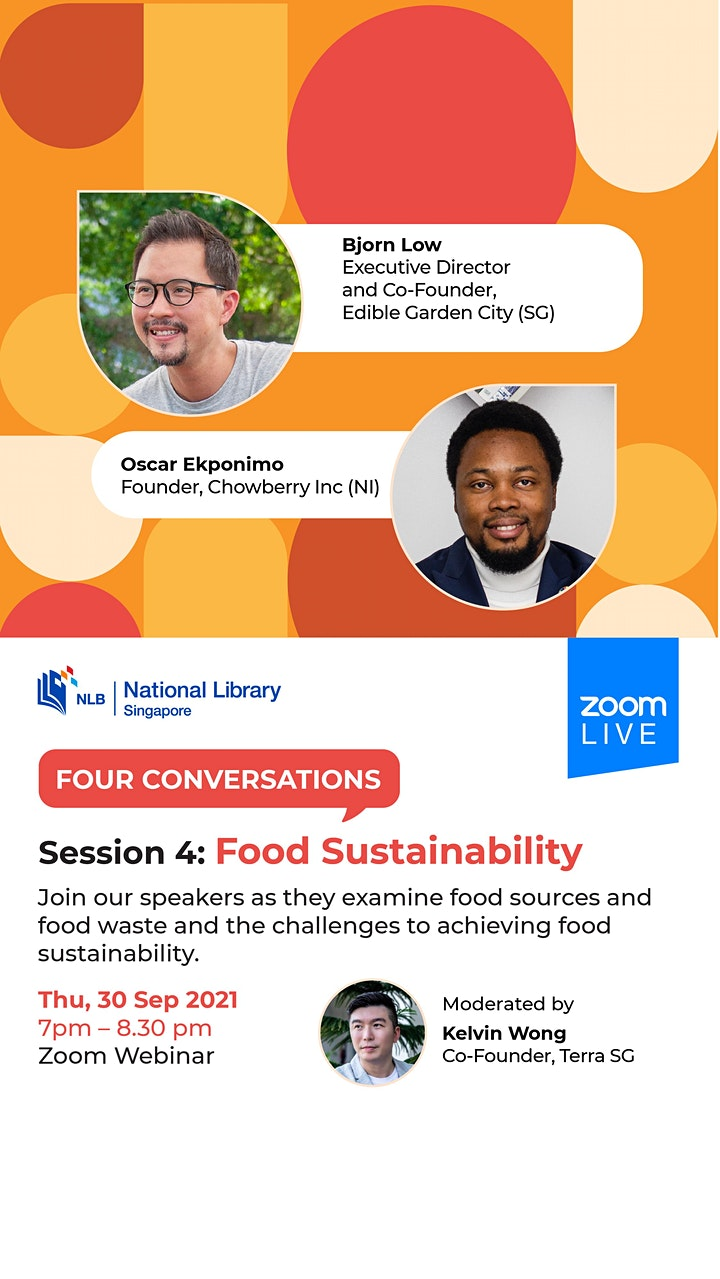 Session 4: Food Sustainability | Four Conversations image
