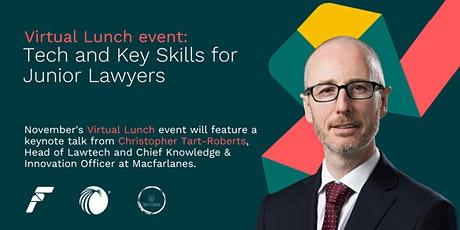 Junior Lawyer Virtual Lunch: Tech and Key Skills for Junior Lawyers Tickets