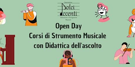 Open Day Corsi di Strumento Musicale con Didattica dell'ascolto biglietti