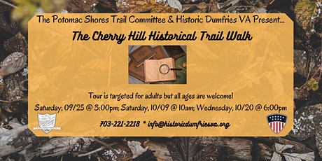 Cherry Hill Historical Walking Tour tickets