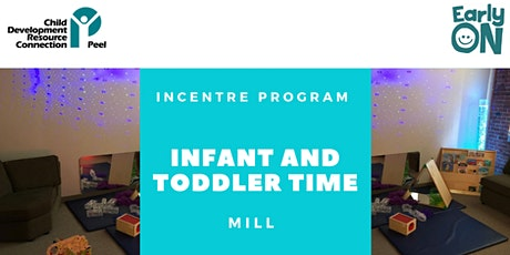 IN CENTRE PROGRAM - Infant and Toddler Time (Birth to 30 months) tickets