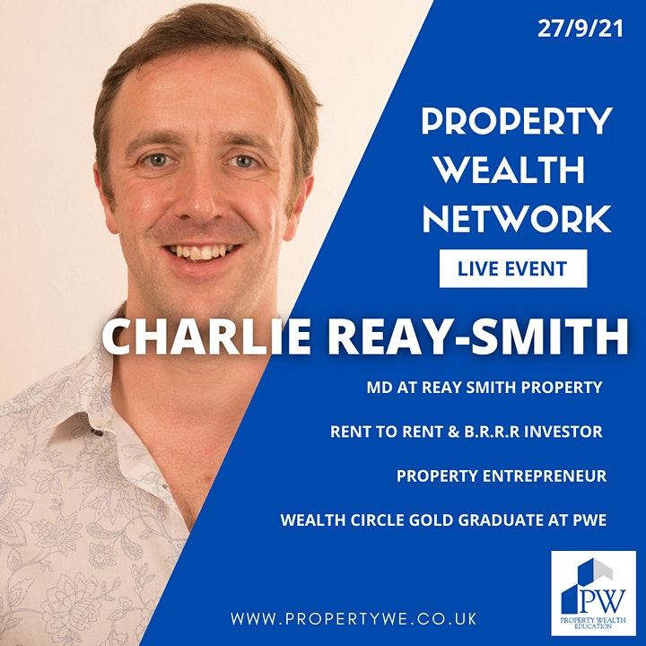 Property Wealth Network - Live Meet Up Event image