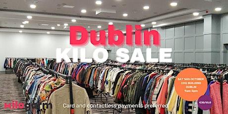 Dublin Kilo Sale Pop Up 16th October tickets