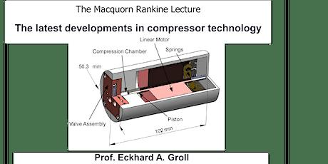 The latest developments in compressor technology - online lecture biglietti