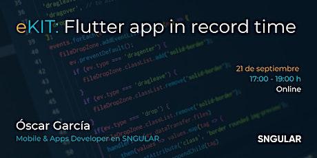 Creando una app con Flutter en tiempo record tickets