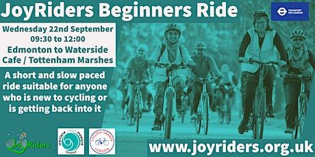 JoyRiders  Women's only Beginners Bike Ride: Edmonton to Tottenham Marshes tickets