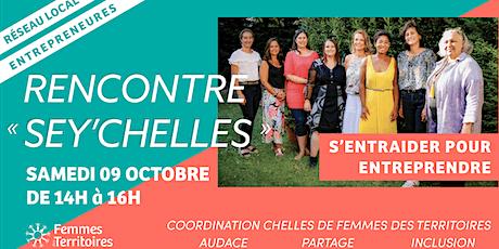 """Rencontre Femmes des Territoires des """"Sey-Chelles"""" billets"""