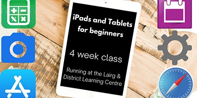 iPads and Tablets for Beginners