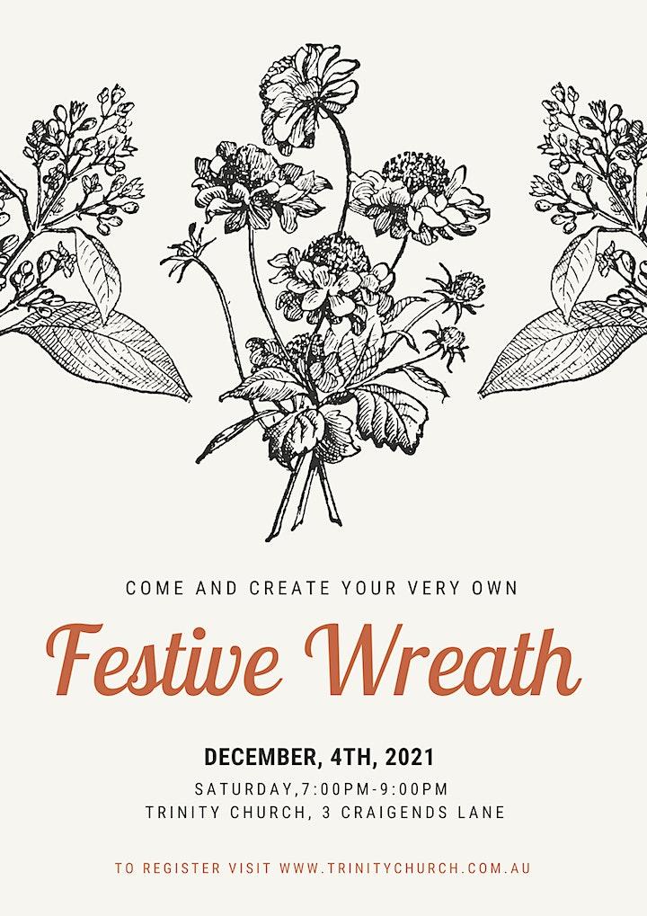 Festive Wreath Workshop image