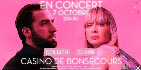 CONCERT / Claire - DOLIATH billets