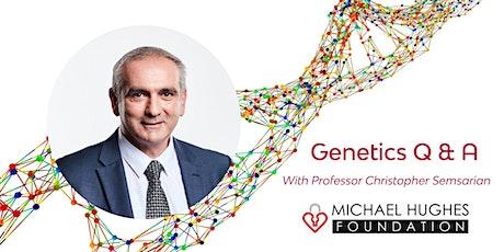 Restart A Heart Day 2021 - Genetics with Professor Chris Semsarian tickets