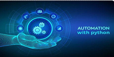 Learn Python & Automate the repetitive tasks - Python Classes tickets