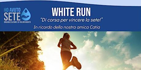 WHITE RUN - Di corsa per vincere la sete biglietti