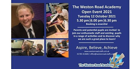 Open Evening Session 3 6.30 - 7.30pm tickets
