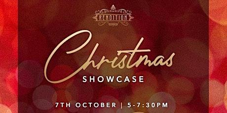 Christmas Showcase 2021 tickets