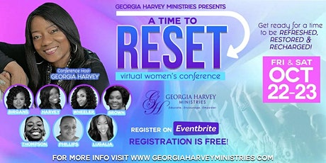 """""""A Time to Reset"""" Virtual Women's Conference 2021 tickets"""