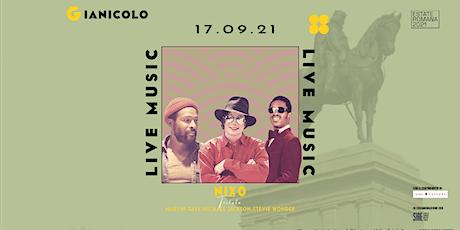 Nixo Tribute to Stevie Wonder, Marvin Gaye, Michael Jackson | Gianicolo biglietti