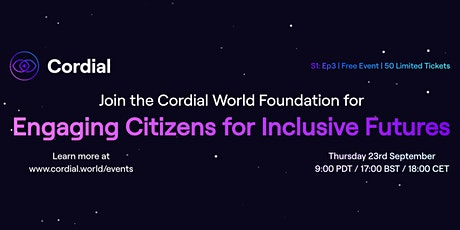 Engaging Citizens for Inclusive Futures - S1:E3 tickets