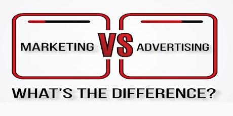 Advertising vs Marketing tickets